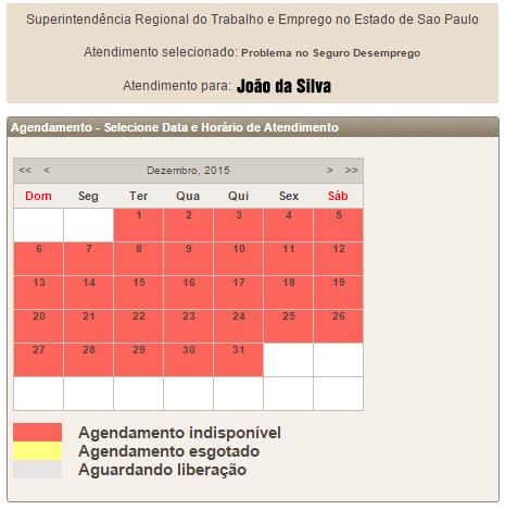 Agendamento Ministério do Trabalho