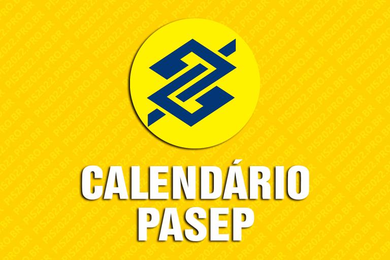 Calendário PASEP 2022