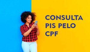 Consulta PIS pelo CPF 2022
